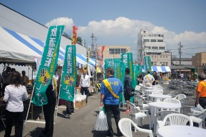 2014年8月3日茨城県 土浦キララ祭り 街頭活動