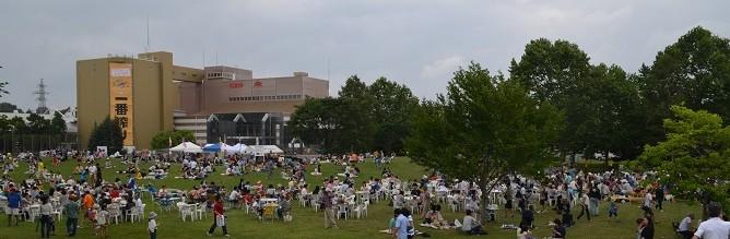 2014年8月24日北海道支部「キリン北海道ビアフェスタin千歳」会場