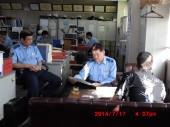 2014年7月17日 茨城県土浦警察署内にて