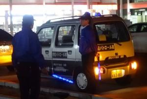 2014年4月25日 滋賀県 青パト活動 辻支部長