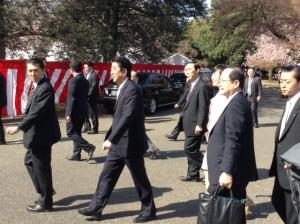 2014年4月12日「桜を見る会」安倍首相