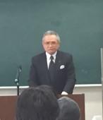 丹澤会長による講演