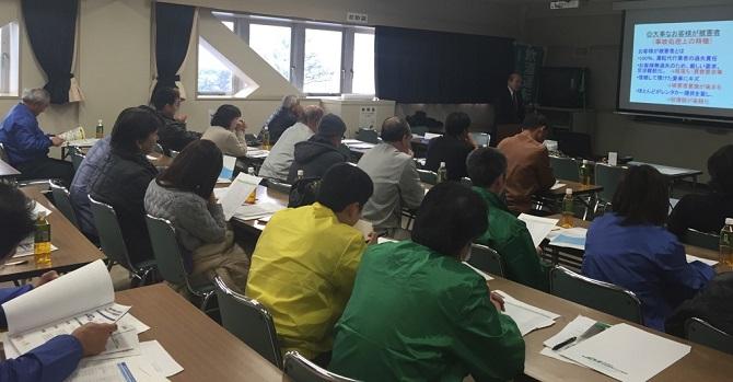 JD共済金澤専務による交通事故防止講習
