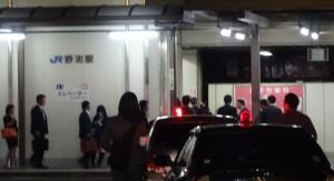 2014年4月25日 滋賀県 青パトJR野洲駅前