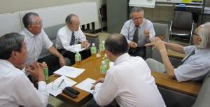 優良評価制度の今後の進め方を決定した認定委員会の第2回会合(9月5日)