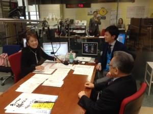 2013年12月12日KNBラジオに丹澤会長出演